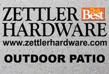 Zettler Outdoor Patio / Need Outdoor Patio Ideas? We have many things that you need for you DIY project!