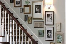 Staircase Gallery Wall Tips / Creating a staircase gallery wall allows you to transform a frequently passed wall into something truly special.