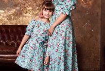 Vestido para mamá e hija