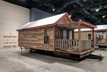 Reclaimed Park Model Cabin