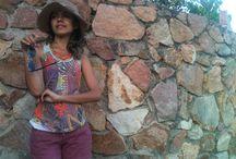 Beautiful day / Short bordô+ chapeu + tshirt