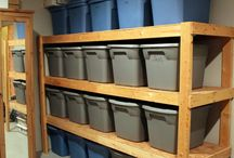 OCD / Organization for a home with minimal storage space.
