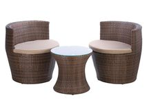 Faux Rattan Patio Set from Ocean Tailer / Enjoying small talks while Sharing a cup of coffee with your loved one right in the comforts of your outdoor living space could be more pleasurable    The Faux Rattan Patio Set has a woven design which adds a contemporary look plus relaxing atmosphere it could create to your patio  Avail one now from http://shop.oceantailer.com/inventory/detail/67413  #outdoorfurniture #homeimprovement