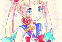 ❤️ Sailor Moon ❤️ / by San Smith