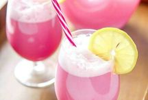 Raspberry sherbert punch