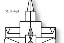 origami Mormon