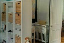 Master bedroom nursery