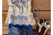 Beautiful clothes, shoes and bags