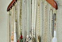 Wieszaki na biżuterię