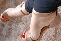 Perfect feet in perfect shoes