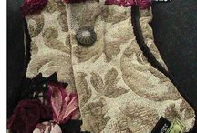 Totes of all sorts / handmade and upcycled vintage fabric bags / by Anita's Curiosity Shop