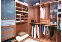 Wardrobes / Custom designed Dolce wardrobes created by Creative by Design Australia. Ph: 1300 366 222.