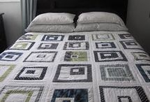 log pattern quilts / quilts