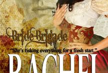 RACHEL, Bride Brigade 5 / Rachel Ross is escaping the scandal surrounding her wrongful conviction for embezzlement. She travels to Tarnation, Texas with Lydia Harrison and six other young women looking for love and a fresh start. Bride Brigade book five.  A rich young widow imports some women to Tarnation, Texas for the men to chose for wives.  Inspirational, Victorian, western historical series, sweet, Texas