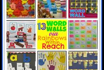 Bulletin boards / We can use these ideas in the classroom.