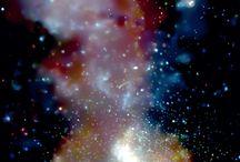 ΟΓαλαξίας της Ανδρομεδας / Ξηρά παστέλ σε τοιχο
