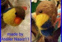 droog-en natvilten gemaakt door Atelier Naaiz11