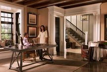 Very Square Collection / Crisp, modern, clean, linear, peaceful. Coordinated mouldings and interior doors from Metrie.