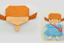 Origami Püppchen
