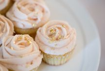 Gold and Pink Desserts