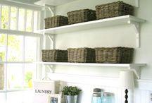 Laundry shelving ideas