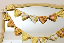 ***Buntings, Streamers and Garlands*** / by Little Yellow Cottage