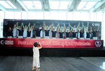 Potanın Perileri Marmara Forum'da / 2012 Londra Olimpiyat Oyunları'na katılma hakkı elde eden A Milli Kadın Takımımız, ABD ve Hırvatistan Milli Takımları ile yapacağı son provalar öncesinde Marmara Forum'da sevenleri ile buluştu.