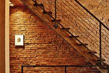 Exposed brick city
