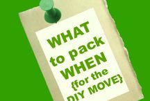 Moving house ideas