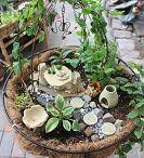 Faerie garden ideas / by Pamala Mohler