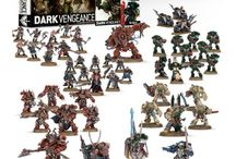 Warhammer / Anything Warhammer! Just got into Warhammer 40k via the Dark Vengeance starter kit. Still at assembly stage, but having a blast doing it.   In this board I'll pin box sets of Warhammer 40k models that I'd like as well as pictures of various models that other people have painted. I will also pin any age of sigmar sets or painted units that i find interesting.   Many of these images were simply found on r/warhammer