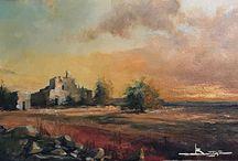 Antonio Bonatesta landscapes art