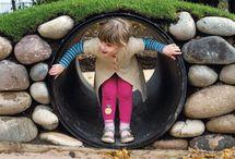 plac zabaw w ogrodzie - play in garden