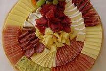 Käse-Wurstplatten