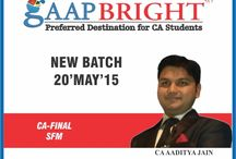 CA FINAL - NEW BATCHES MAY 2015 /  CA FINAL  NEW BATCHES STARTING FROM 20 MAY 2015