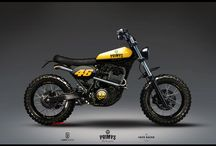 Tracker Motorcycle / Dirt, Street and Flat tracker motorcycle