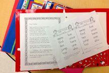 HOMEWORK / #homework / by The Kinder Cupboard