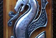 Metal&drewno