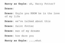 Yer a fucking wizard Harry / A mix of heart break and happiness