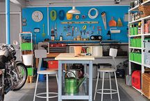 Garage and Workspaces / make the most of your storage spaces with all your outdoor equipment