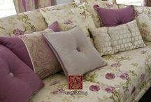 Dizajnové závesy a záclony Alhambra