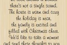 Christmas versesd