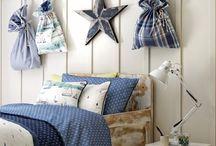 tessuti per i più piccoli! / Realizzazione di lettini, cuscineria, tendaggi, divani e poltrone con i tessuti di CLARKE & CLARKE collezione Storybook.