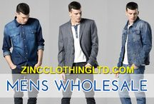 Mens Wholesale / Finding a supplier for men's wholesale clothing is quite easy. Just a simple online research will certainly help to find numerous wholesale suppliers. Just look fornotable service providers and get in touch with them.  http://zincclothingltd.com/