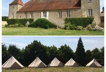 Tentes Mariage / Wedding camping, tente mariage, hébergement original mariage, bell tent, tente sibley