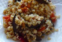 Гарнир / Варианты гарниров из круп, овощей к мясу, птице или рыбе.