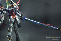 DM 1/100 Arch Destiny (custom paint)