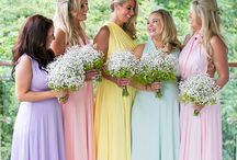Pretty Pastel Wedding / Pretty pastel wedding inspiration stunning for a Easter themed wedding.