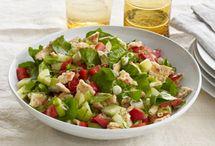 salade ( épinards )