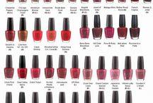 kleuren nagellak